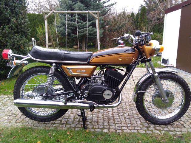 Yamaha YDS7  1972