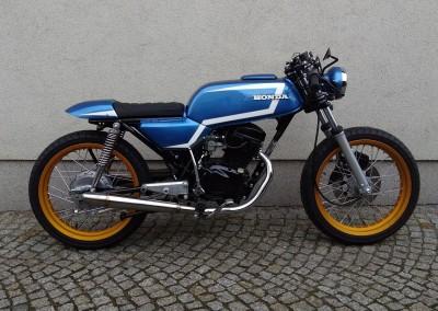 Honda CB 125 Twin 1976r.
